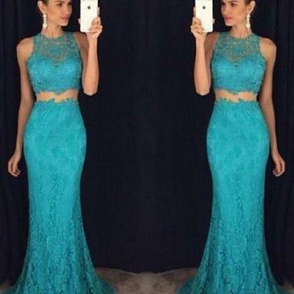 turquoise prom dress, long prom dre..