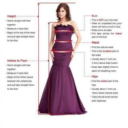 A-Line Deep V-Neck Long Prom/Evenin..