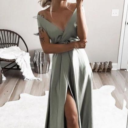 elegant off shoulder formal evening..