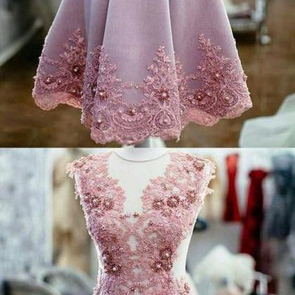 Charming Beaded Homecoming Dresses..