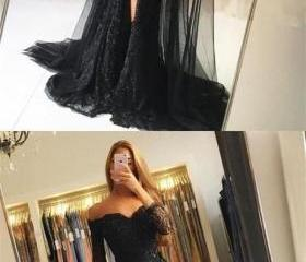 Black Lace Tulle New..