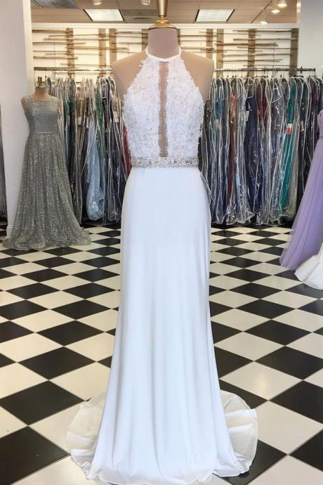 Unique-white-mermaid-long-prom-dress-white-evening-dress,Formal Women Dress ,New Fashion,Party Gown,Evening Dress